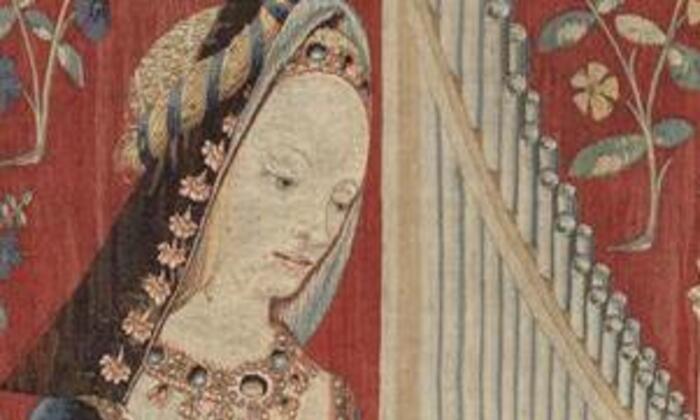 Organetto Dame à la Licorne