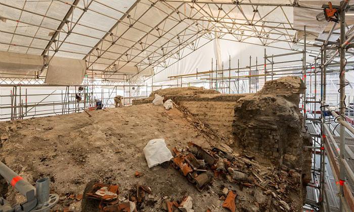 Annexe romaine avant restauration