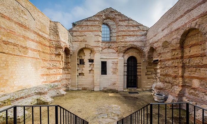 Thermes de Lutèce après restauration