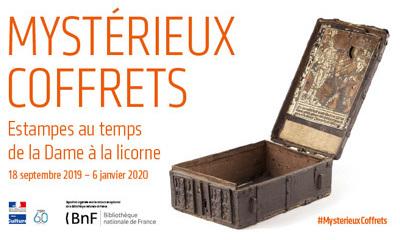 Expo Mystérieux coffrets event