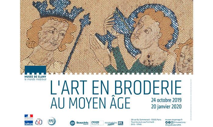 Exposition L'art en broderie au Moyen Âge Home