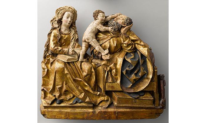 La sainte Famille, 16e siècle, Cl. 15390