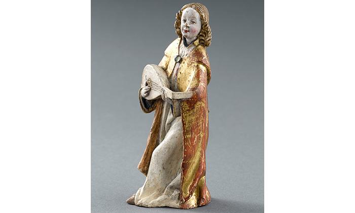 Ange musicien, 15e siècle, Cl. 12848