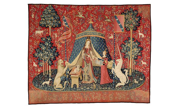 Tenture de la Dame à la licorne : Mon seul désir, vers 1500, Cl. 10834