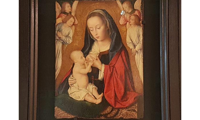 Vierge à l'Enfant du Maître de Moulins, 15e siècle, Cl. 23926