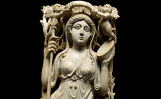 Ariane, Ménade, Satyre et Amours Cl. 455 Mini