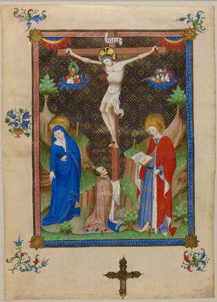 crucifixion-breviaire-de-gerard-de-montaigu