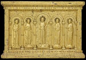 Devant d'autel de la cathédrale de Bâle