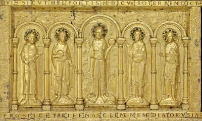 Mini-Devant d'autel de la cathédrale de Bâle