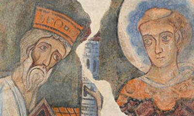 Mini Offrande D'un Un Roi à Un Saint
