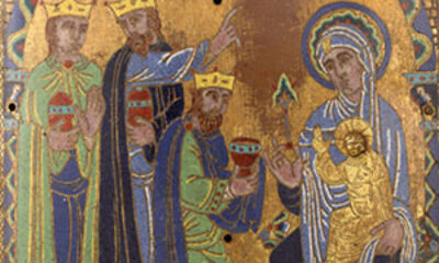 Plaque de l'Adoration des Mages Cl. 956 b Mini