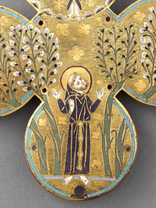 Plaque d'un reliquaire de saint François d'Assise (Détail 3)