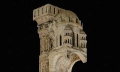 Mini Statues-colonnes du portail de Sainte-Anne 1