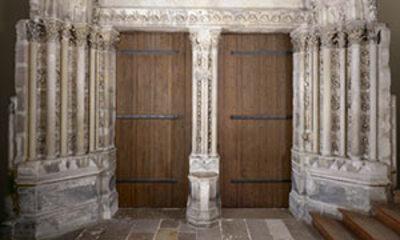 Mini Portail De La Chapelle De La Vierge De Saint Germain Des Pr S