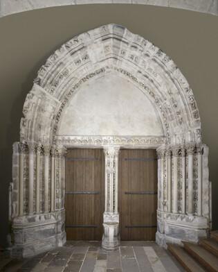 Portail de la Chapelle de la Vierge de Saint-Germain-des-Prés