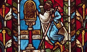Mini 2 Vitrail Troyes Miracles De Saint Nicolas