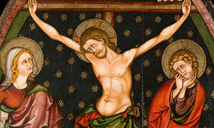Mini Crucifixion Provenant De Sauvagnat