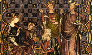 Mini 2 Devant d'autel scènes de la vie de la Vierge 2
