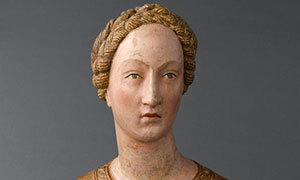 Mini Buste reliquaire de Sainte Mabille 1