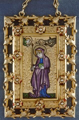 Tableau-reliquaire de sainte Geneviève 2