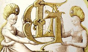 Mini Rondel Au Monogramme LG