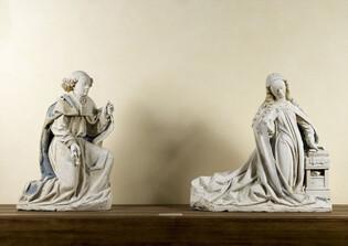 Ange et Vierge de l'Annonciation