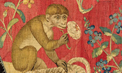 La Dame à la Licorne-vignette-singe