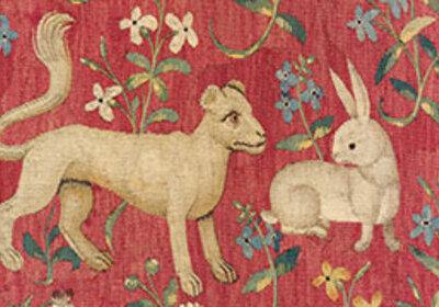 Mini La Dame à la Licorne : la Vue (Cl. 10836, détail 2)
