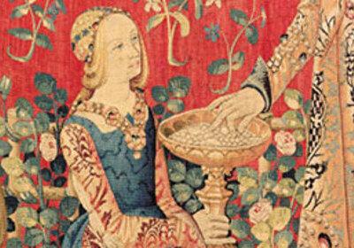 La dame la licorne et les tapisseries du mus e en famille - La tapisserie de la dame a la licorne ...