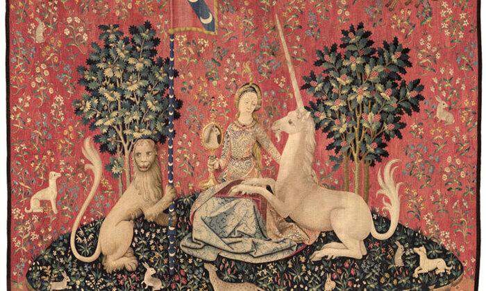 La Dame à la Licorne : la Vue (Cl. 10836)