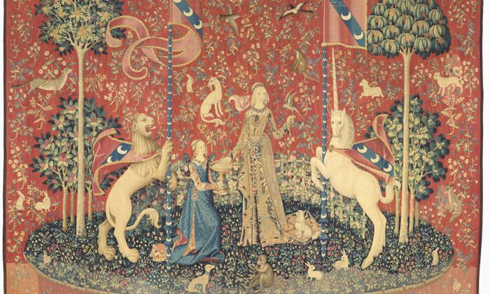 La Dame à la Licorne : le Goût (Cl. 10831)