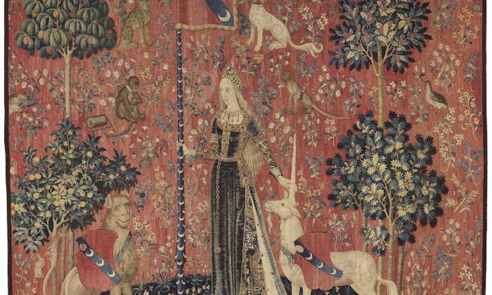 La Dame à la Licorne : le Toucher (Cl.10835)
