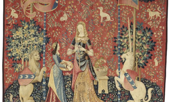 La Dame à la Licorne : l'Odorat (Cl. 10832)