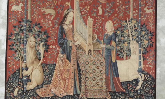 La Dame à la Licorne : l'Ouïe (Cl. 10833)
