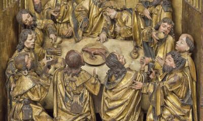 Retable du Saint-Sacrement d'Averbode (Détail 20)