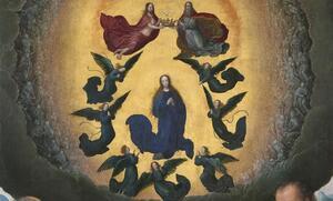 Mini-Tryptique Assomption de la Vierge