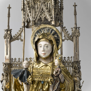 Sainte Anne Trinitaire (Détail 4)