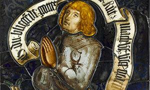 Mini Jacques de Fleckenstein en donateur vitrail