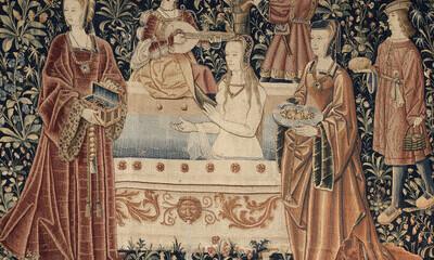 La Vie seigneuriale : le bain (Cl. 2180)