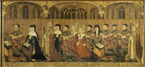 La famille Jouvenel des Ursins en prière