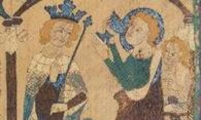 Mini-Devant d'autel : Scènes de vies de saints