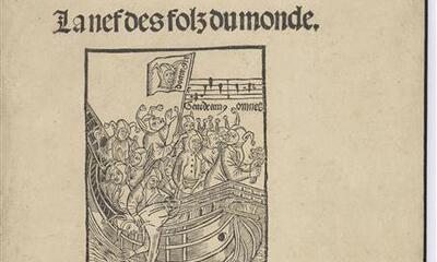 Mini-Incunable illustré - La Nefs des folz du monde