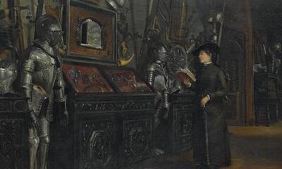 Mini-La galerie des Armes au musée de Cluny