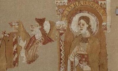Mini-Parement d'autel - apôtres sous arcades