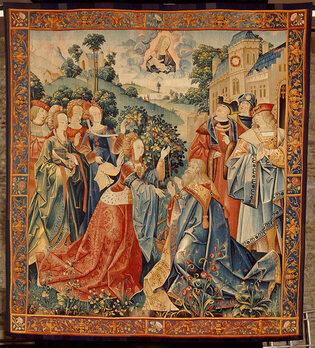 Tapisserie-Auguste-et-la-Sybille-Cl-1458