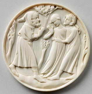 sculpture-valve-boite-miroir-Tristan-et-Yseult-Cl-383-1