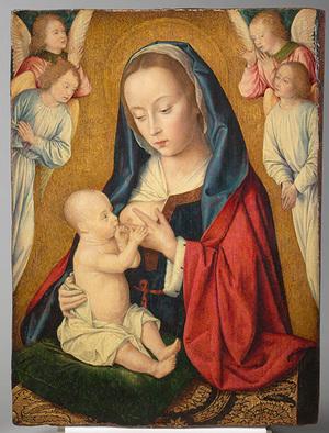 Vierge à L'Enfant Maître de Moulins