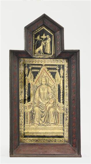 Cl 13093 Vierge A L Enfant Licorne