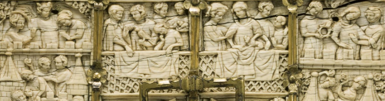 Coffret de l'assaut du château d'amour, acquis avec le soutien des Amis du musée