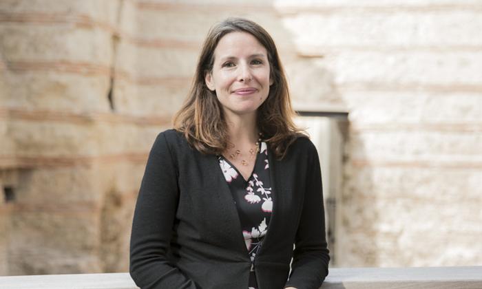 Séverine Lepape, directrice du musée de Cluny